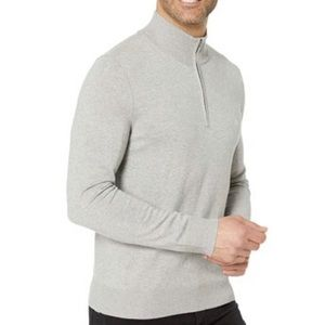 Calvin Klein Men's Quarter Zip Sweater